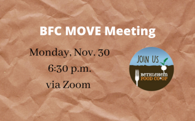 Nov. 30: New date for MOVE
