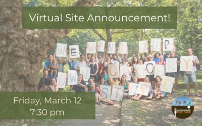 March 12: Join Us For Our Site Announcement