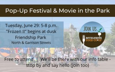 Tuesday, June 29: Friendship Park Event