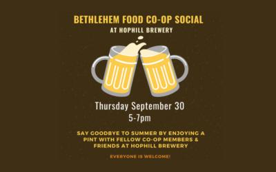 Thursday, Sept. 30 – BFC Social